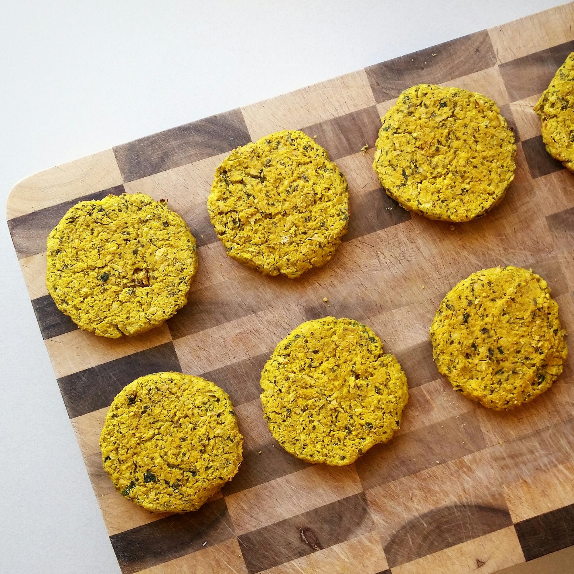 recipe: pumpkin and chickpea patties [29]